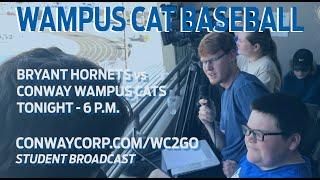 Conway Wampus Cat Baseball vs Bryant