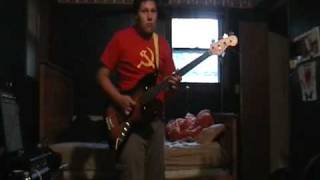 Joy Division - From Safety To Where Bass Cover