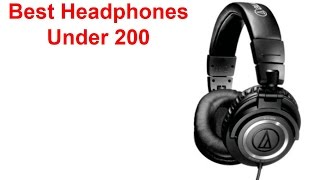 Best Headphones Under $200 Dollars (2015) | What are the Best Value?
