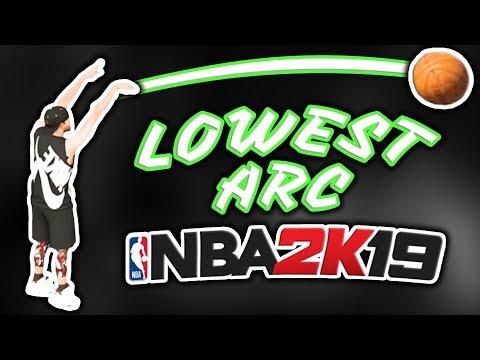 FLATTEST Jumpshot Of NBA 2K19
