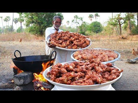 100 Chicken Drumsticks Recipe | Chicken Legs Fry  Grandpa Kitchen