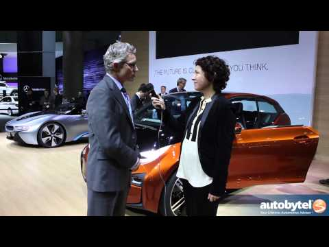 BMW i3 Coupe & i8 Plug-In Hybrid Concept Cars At The LA Auto Show