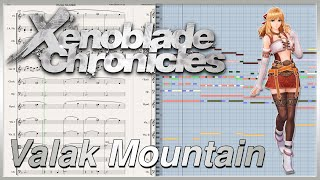 "New Transcription: ""Valak Mountain"" from Xenoblade Chronicles (2010)"