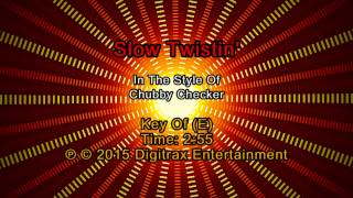 Chubby Checker - Slow Twistin' (Backing Track)