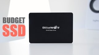 BlitzWolf 120GB SSD Review - Budget SSD