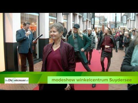 VIDEO | Ondanks de regen toch een mooie presentatie van 25 modezaken in Suydersee