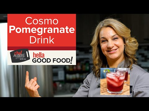 Cosmo Pomegranate Drink