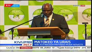 Chebukati: We call on all Kenyans to be patient with this exercise