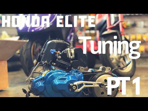Honda Elite Corsa bore - смотреть онлайн на Hah Life