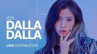 ITZY   달라달라 DALLA DALLA | Line Distribution