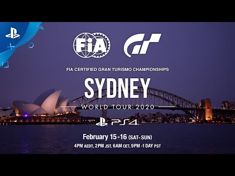 The FIA Gran Turismo Championships 2020 Series Kicks Off in Sydney