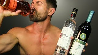 Drink AND Get SIX PACK ABS! 4 BEST Alcoholic Drinks That WONT Make You FAT!