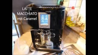 KRUPS EA8808 Kaffeevollautomat - Die Kaffeezubereitung
