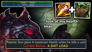 MAX HEALTH! Smite Sion + Buffs = RAID BOSS  10k + HEALTH   Adventures of SpicyNoodle264 [Episode 34]