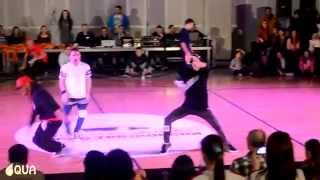 AQUA / Hip Hop Solo Adult Male - Benjamin Xhaferi - International Macedonia Open 2014