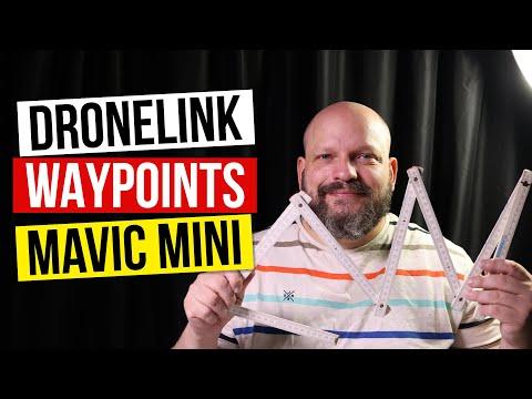 Dronelink Mavic Mini Waypoints automatisiert fliegen Anleitung und Erfahrung