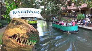 San Antonio River Walk (Things To Do, Places To Eat/Drink) with The Legend