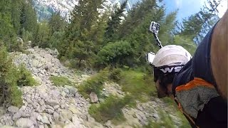 GoPro Graham Dickinson's Insane Wingsuit Flight  Front Helmet Cam 2 of 3