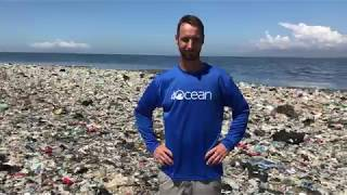 Walking on an Island of Plastic