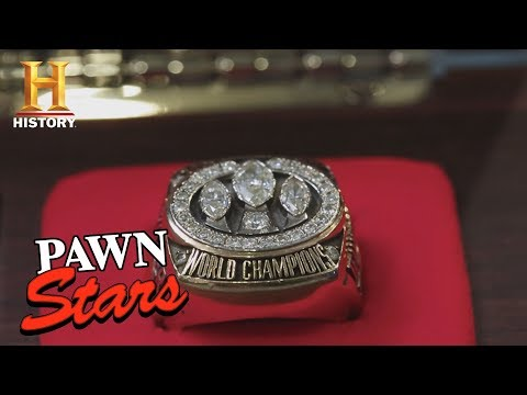 Pawn Stars: 49ers Super Bowl Rings | History