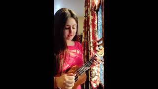 Tera woh pyar  Nawashien Karam   cover × UKULELE  Asim Azhar  Momina Mustehsan