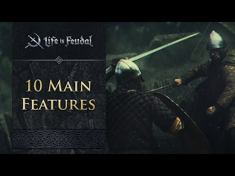 10 Main Features - Life is Feudal: MMO