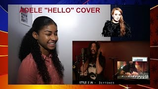 "Adele ""Hello"" Ten Second Songs 25 Style Cover Reaction"