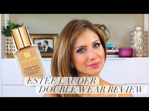 Estee Lauder Double Wear Foundation Review, Demo and Wear Test | Lisa J Makeup