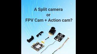Hawkeye Firefly Split 4K 160 Degree HD Recording DVR Mini FPV Camera WDR Single Board Built-in Mic