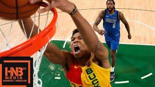 Dallas Mavericks vs Milwaukee Bucks Full Game Highlights | 01/21/2019 NBA Season