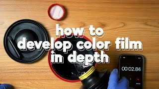 How to Develop Color Film at Home - In Depth Tutorial