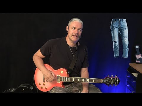 Blue Jeans Blues - Guitar Lesson