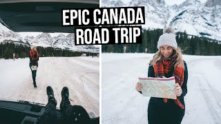 The MUST DO Canada Road Trip on the Icefields Parkway - Lake Louise to Jasper