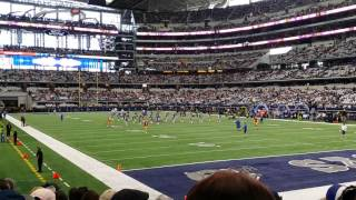 Dallas Cowboys Cheerleaders 2016 Season Finale