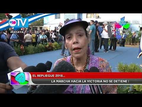Nicaragua está hecha para convivir como hermanos, asegura Compañera Rosario