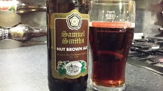 (4K) Samuel Smiths Nut Brown Ale | British Beer Review