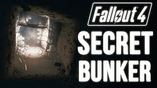 Fallout 4 Easy to MISS Hidden Location (A Secret Bunker Location Unmarked)