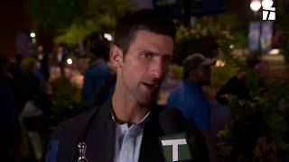 Novak Djokovic Winner's Interview: US Open