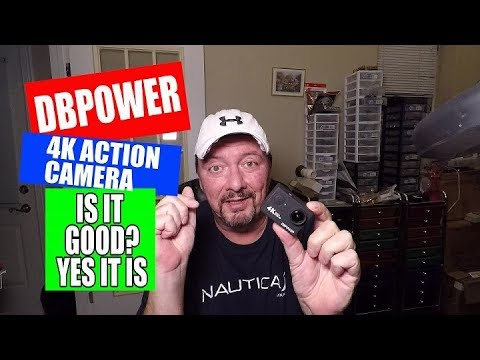 DBPOWER 4K ACTION CAMERA, I WAS VERY SURPRISED !