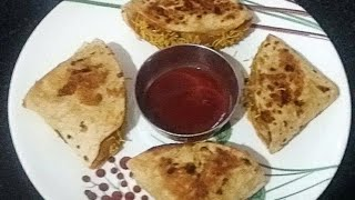Roti Tacos | Tacos | Khana khazana vegetarian recipes in Hindi