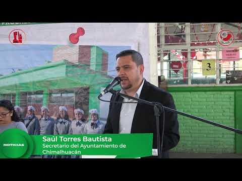 Inauguramos barda perimetral en Primaria del barrio Herreros