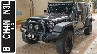 In Depth Tour Jeep Wrangler Unlimited [JK] (2014) - Indonesia