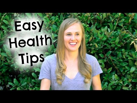 Easy Health Tips From A Registered Dietitian Nutritionist