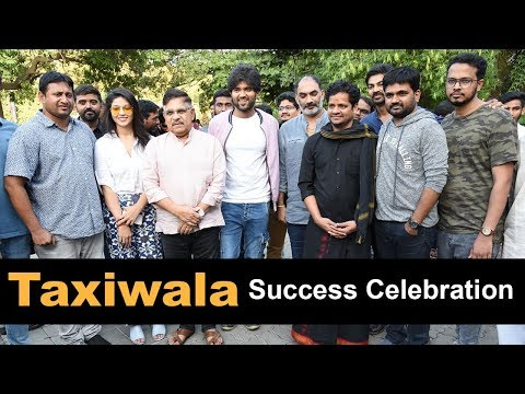 Taxiwala Movie Team Success Pressmeet