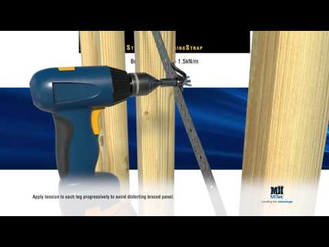 MGB0708 Structural Bracing Strap MASTER