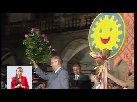 Горбачёв. В Польше 13.07.1988