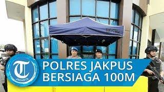 Situasi Pasca-bom Bunuh Diri di Mapolrestabes Medan Pendaftaran SKCK di Polres Metro Jakarta Pusat