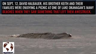 the Ogopogo lake monster, has been captured on video