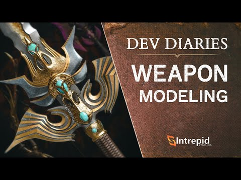 Ashes of Creation - Dev Diaries - Weapon Modeling