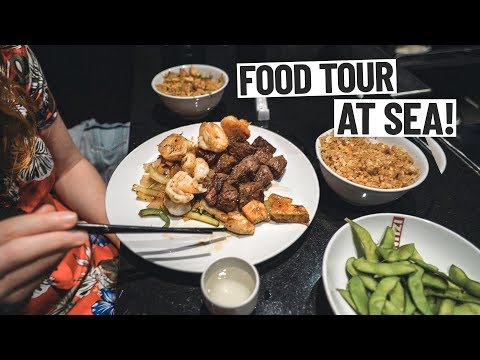 What the Food Is Like on The LARGEST CRUISE SHIP IN THE WORLD!  – Symphony of the Seas Cruise